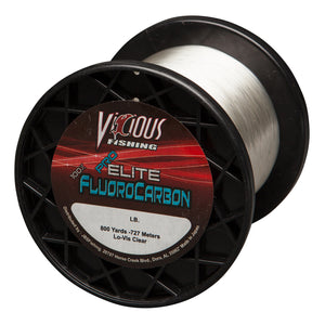 14lb Vicious Pro Elite 100% Fluorocarbon - 800 Yards
