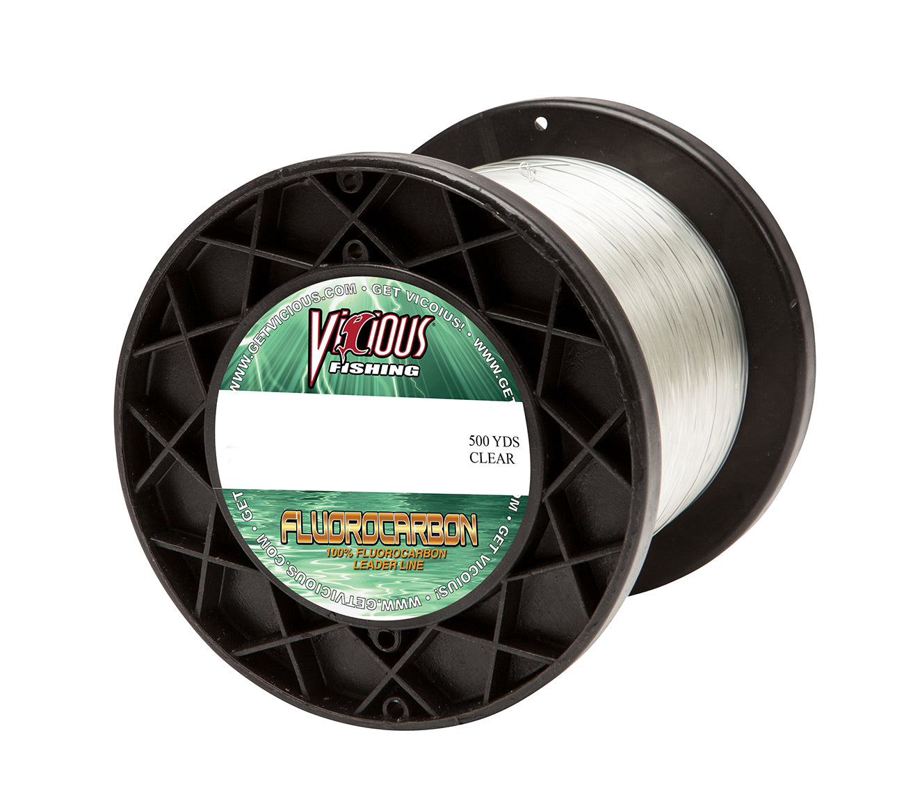 60lb Vicious Fluorocarbon Leader - 500 Yards