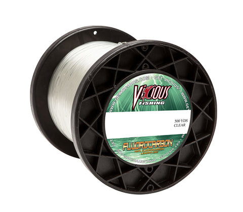 25lb Vicious Fluorocarbon Leader - 500 Yards