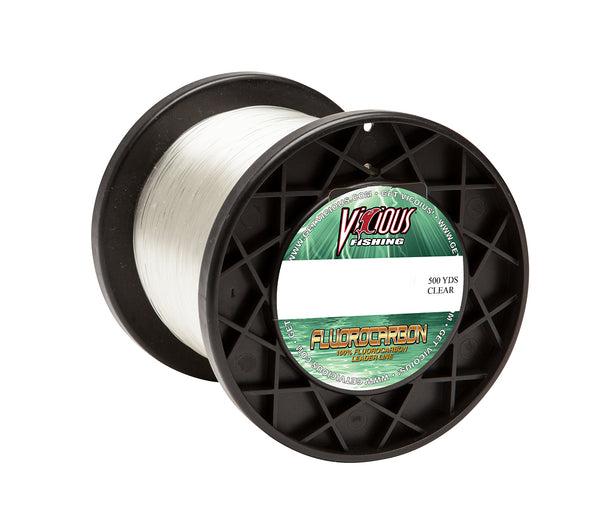 20lb Vicious Fluorocarbon Leader - 500 Yards