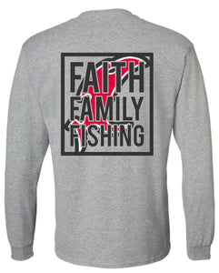 Faith Family Fishing LS Tee
