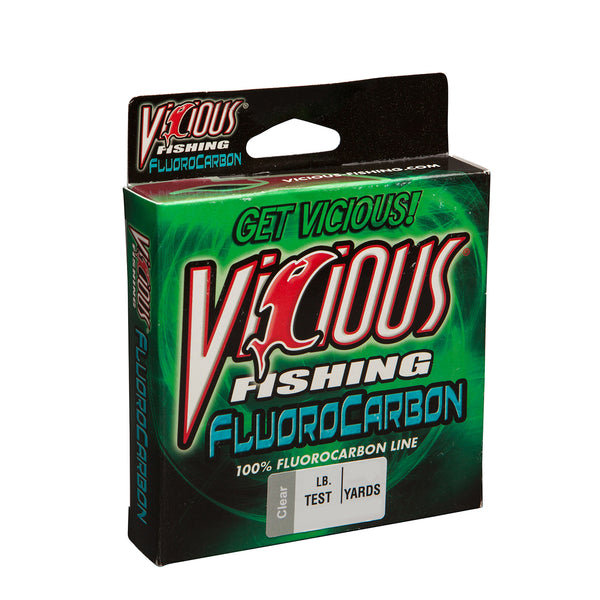 10lb Vicious 100% Fluorocarbon - 200 Yards