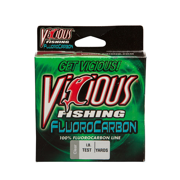 8lb Vicious 100% Fluorocarbon - 250 Yards