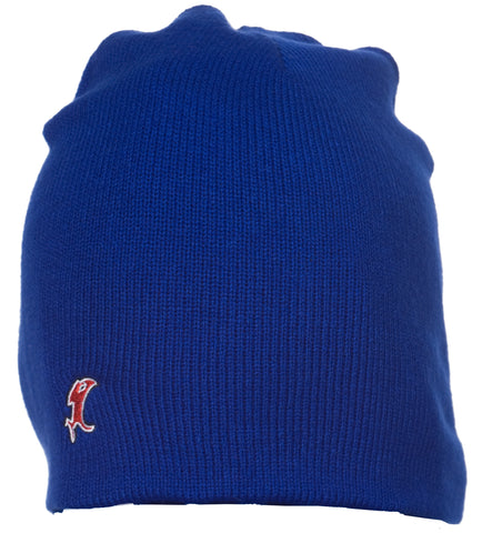Vic Blue Knit Cap