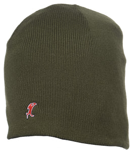 Vic Olive Knit Cap