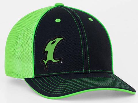 Lime Green Fitted Hat