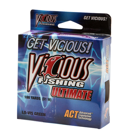 4lb Vicious Lo-Vis Green Ultimate - 100 Yards