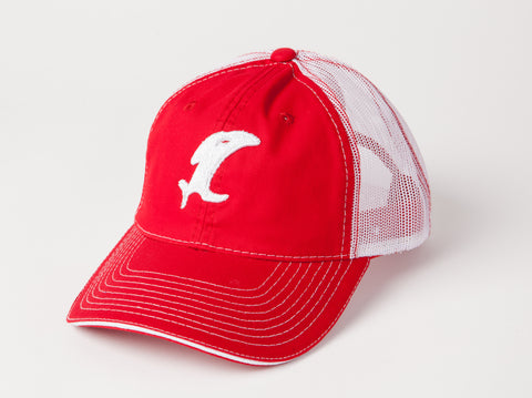 Vintage Red/White Adjustable Cap