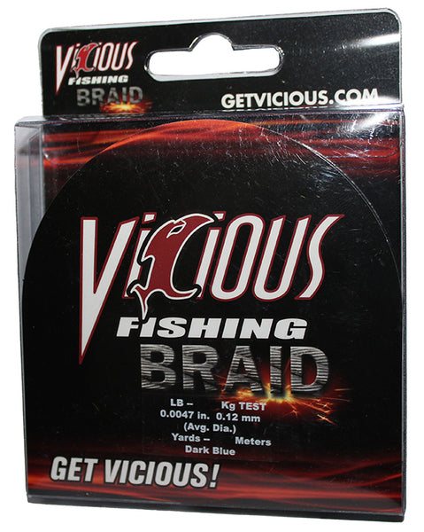 30lb Vicious Blue Braid - 150 Yards