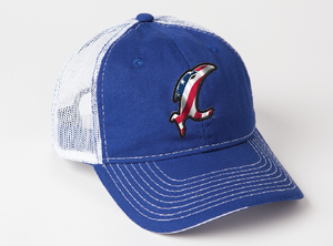 American Vic Adjustable Blue Hat
