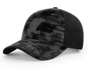 Vic Black Kryptek Fitted Hat