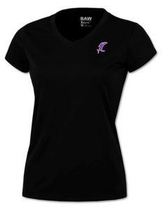 Vicious Ladies Black Performance Tee