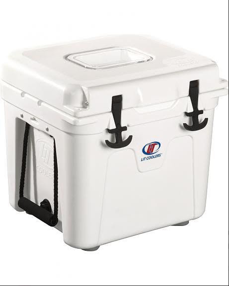 Vicious White LiT Cooler (3 Sizes Available)