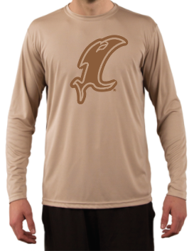 Icon Performance Tan LS Tee