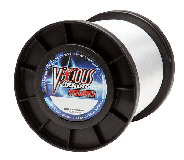 20lb Vicious Clear Blue Ultimate - 4,400 Yards