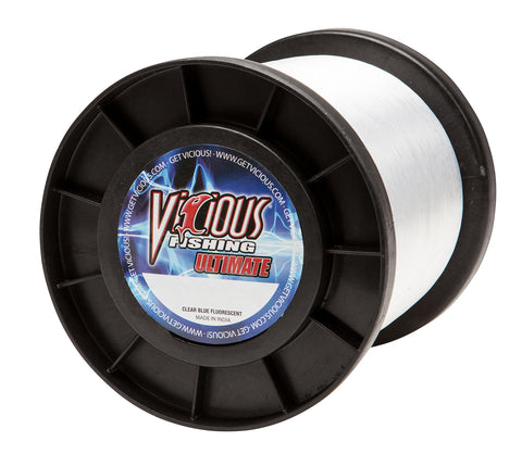 10lb Vicious Clear Blue Ultimate - 11,600 Yards