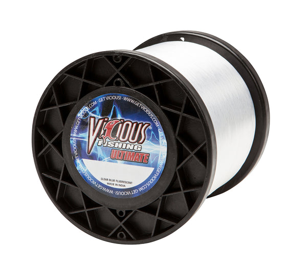 12lb Vicious Clear Blue Ultimate - 5,000 Yards