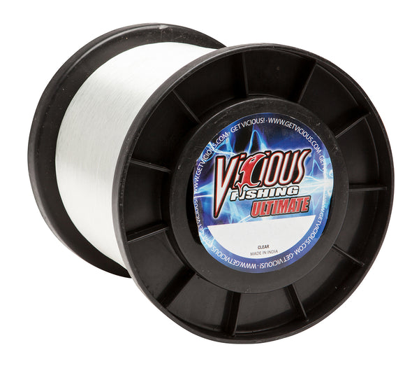20lb Vicious Clear Ultimate - 12,000 Yards