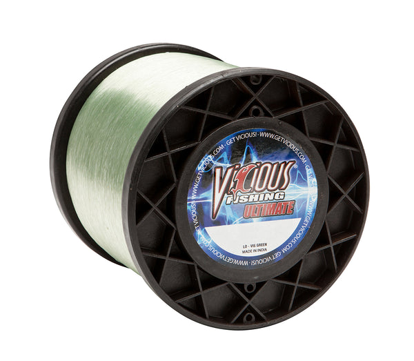 17lb Vicious Lo-Vis Green Ultimate - 2,920 Yards