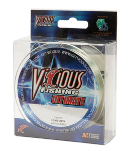 25lb Vicious Lo-Vis Green Ultimate - 330 Yards