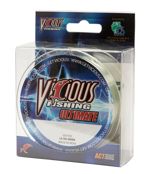 17lb Vicious Lo-Vis Green Ultimate - 330 Yards