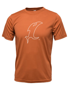 Outline Vic Orange Performance Tee