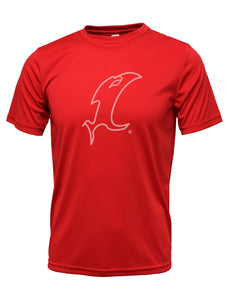 Outline Vic Red Performance Tee