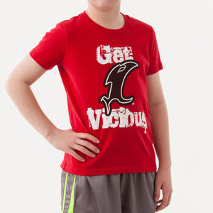Get Vicious Youth Red SS Tee