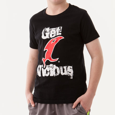 Get Vicious Youth Black SS Tee