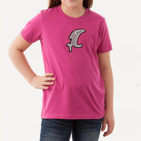 Vic Youth Pink SS Tee