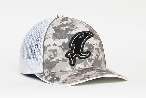 Desert Digital Camo Fitted Hat