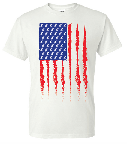 American Flag SS Tee - PRESALE (3 Color Options)