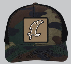 Vic Badge Adjustable Camo Hat