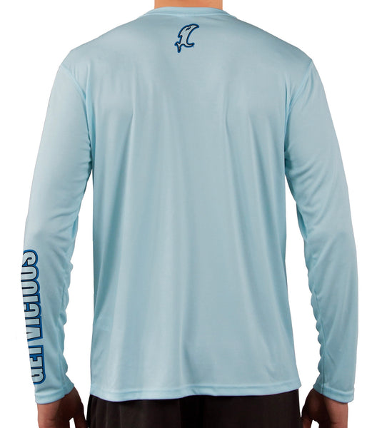 Vicious Blue REPREVE LS Performance Tee