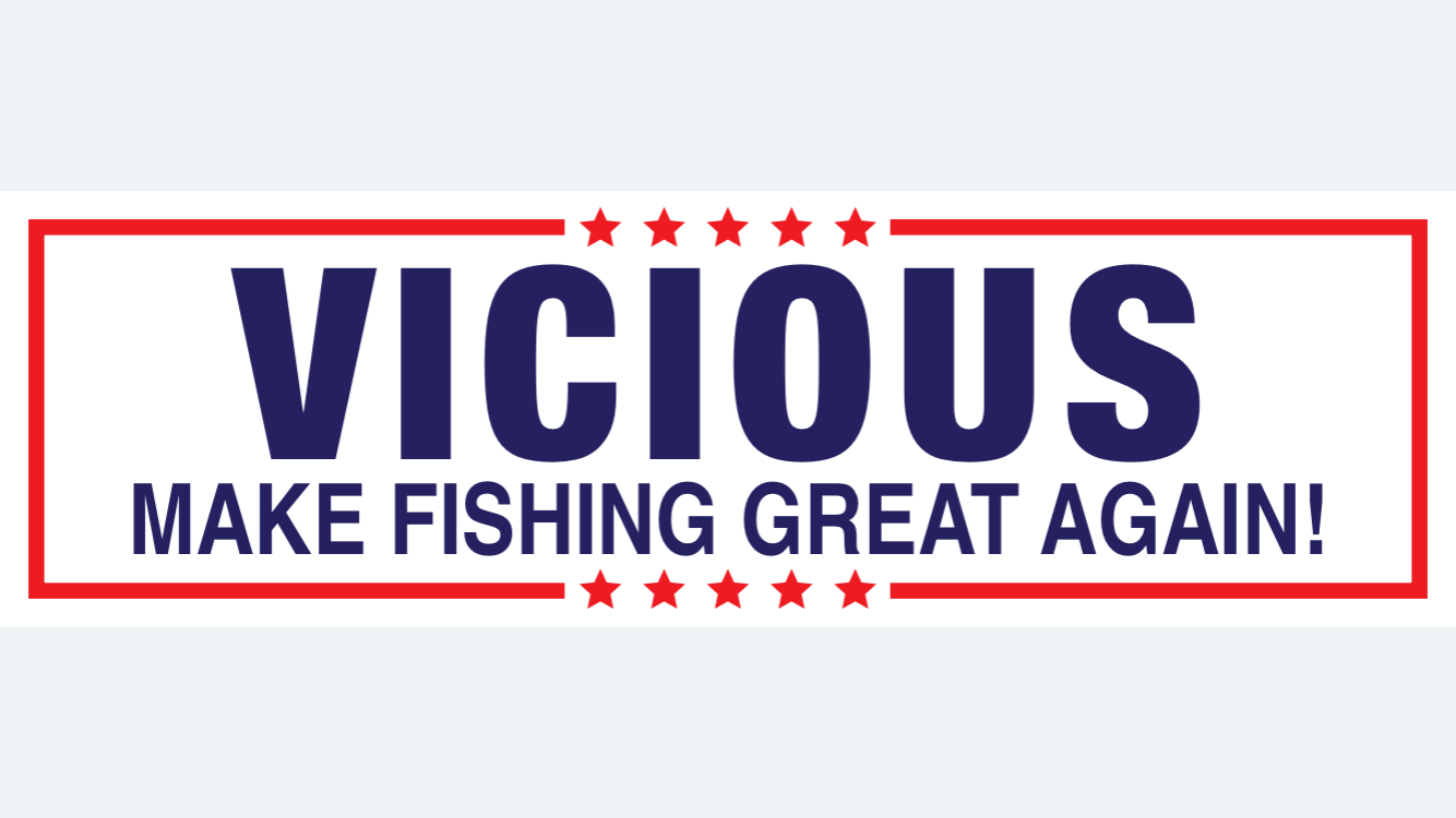 Make Fishing Great Again Decal