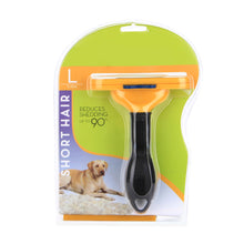 PET Short Hair Brush Removal DeShedding Grooming Tool for Large Small Dog Cat
