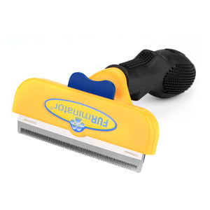 FURminator PET Short Hair Brush Removal DeShedding Grooming Tool for Large Small Dog Cat