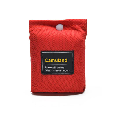 Camuland Picnic Blanket Compact Pocket Waterproof Lightweight Blanket Mat Perfect for Outdoor Camping Hiking Festival Travel Park Beach,100% Nylon,Perfect for Two People