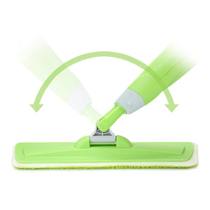 Spray Mop 360°Rotating Head Floor Cleaner 600Ml Bottle Fiber Sweeper Flat Mop
