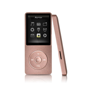 8GB & 70 Hours Playback MP3 Lossless Sound Music Player (Supports up to 64GB)