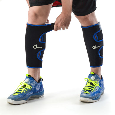 Calf Compression Sleeve - Universal Size Leg Compression Socks -Graduated Calf Pain Relief - Calf Guard Shin Splints Sleeves - for Running - Boosts Circulation - 1 Pair