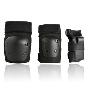ODOLAND Knee and Elbow Waist Pads for Cycling, Skating, Mini Biking Riding   Adjustable Size Fits Children 6-14 Years Old