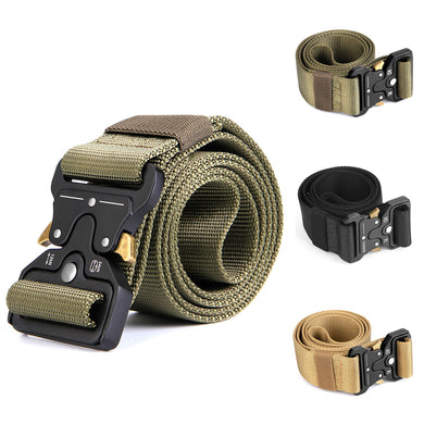 Men's Tactical Belt, Odoland 1.7