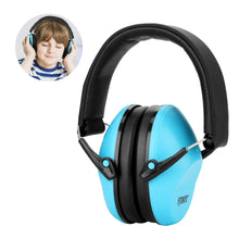 Baby Ear Muffs, FITNATE Safety Infant Ear Protection, NRR26, SNR29 Professional Noise Reduction Adjustable Head Band Ear Defenders for Babies, Toddles and Kids ( Blue )