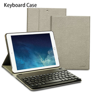 Wireless Bluetooth Keyboard Case with Keyboard For iPad 9.7 17/18 A1822 A1823/A1893