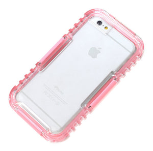 AGPtEK Underwater Waterproof Shockproof SnowProof DirtProof Case Cover for iPhone Plus 5.5 inch- Pink
