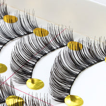10 Pairs Makeup Handmade Natural Fashion Long False Eyelashes Eye Lashes