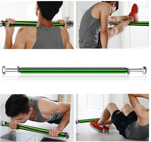 Gym Pull Up Bar Doorway Chin Up Bar Fitness Exercise Trainer Bar Maximum Afford 200kg/440lb