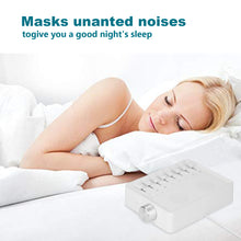 USB White Noise Maker Machine Sleep Therapy Nature 7 Sound Spa Relax Home Travel