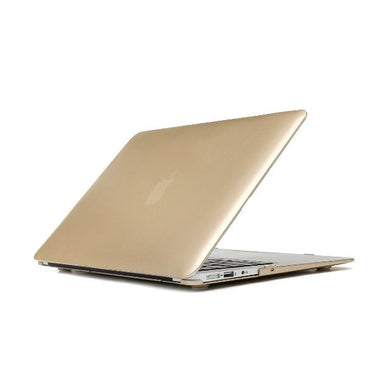 3in1 Rubberized Hard Case Champagne Gold Laptop Shell +Keyboard Skin + Screen Protector for Apple Macbook Air 13